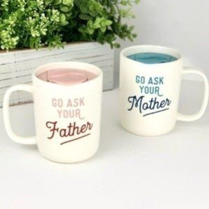 New! Go Ask.... Travel Coffee Mugs